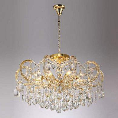 Подвесная люстра Crystal Lux Hollywood SP-PL8 Gold D800